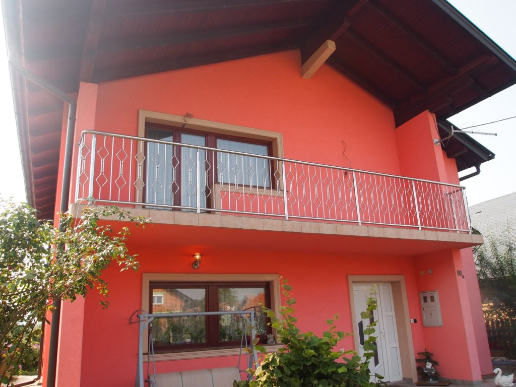 Moderna inox balkonska ograda
