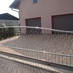Moderna inox klizna vrata