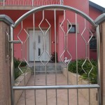 Moderna inox vrata