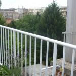 Moderna jednostavna balkonska ograda - Maksimir