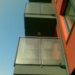 Moderne balkonske ograde sa perforiranim limom  - Jarun